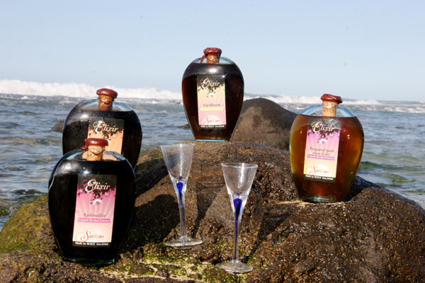 Delicious Elixirs extracting superior herbs in rice wine