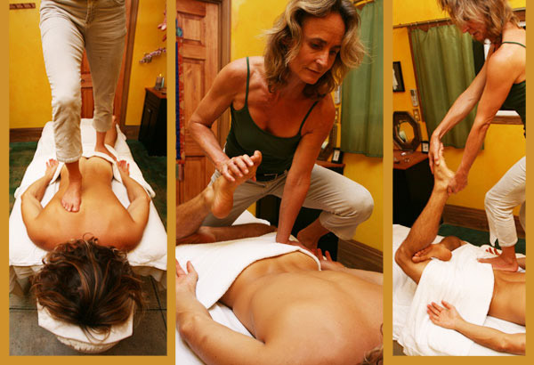 Barefoot Shiatsu Massage Training